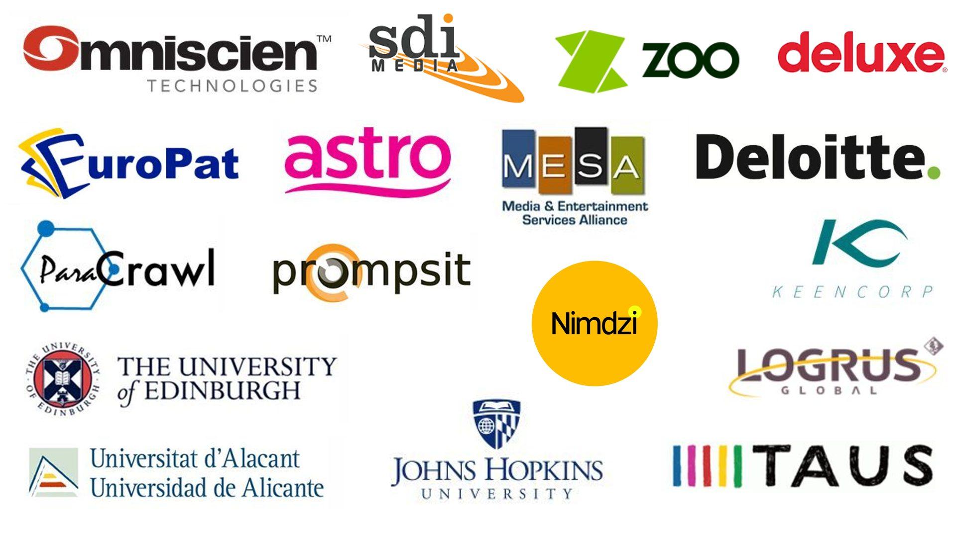 Symposium Speaker Company Logos